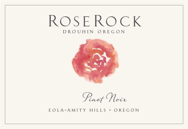 Roserock by Drouhin Oregon Eola-Amity Hills Pinot Noir 2016  Front Label