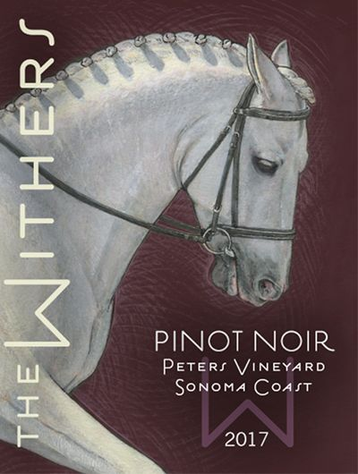 The Withers Peters Vineyard Pinot Noir 2017  Front Label