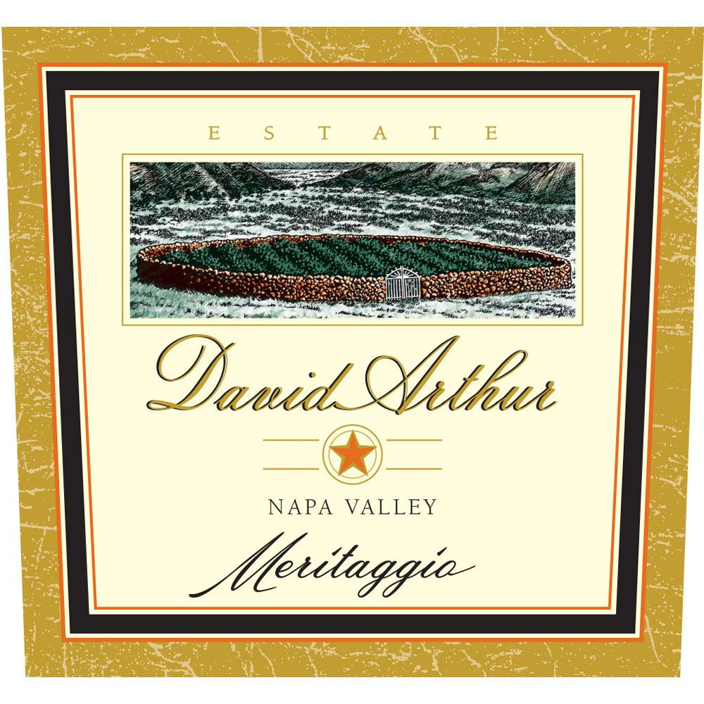 David Arthur Meritaggio 2004  Front Label