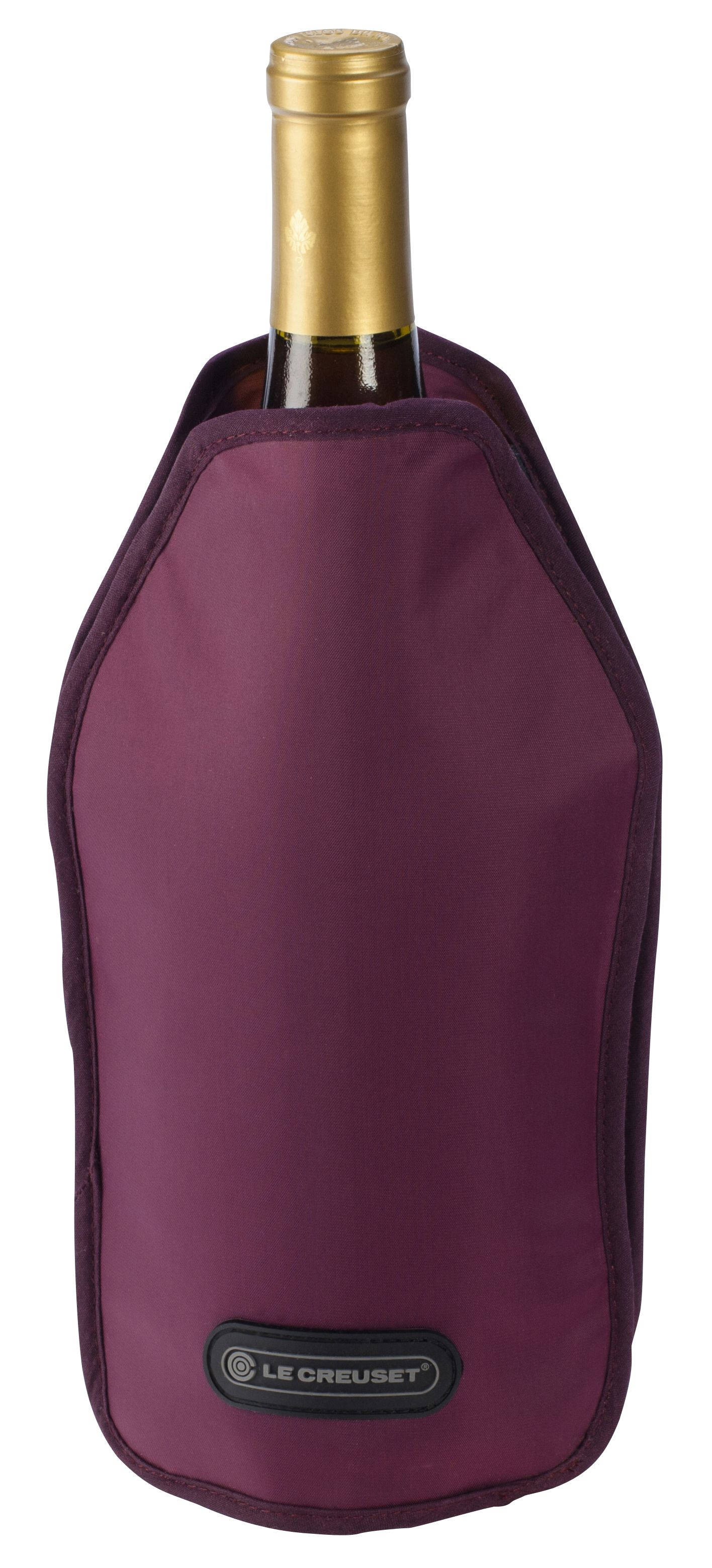 wine.com Le Creuset Wine Cooler Sleeve in Burgundy Gift Product Image