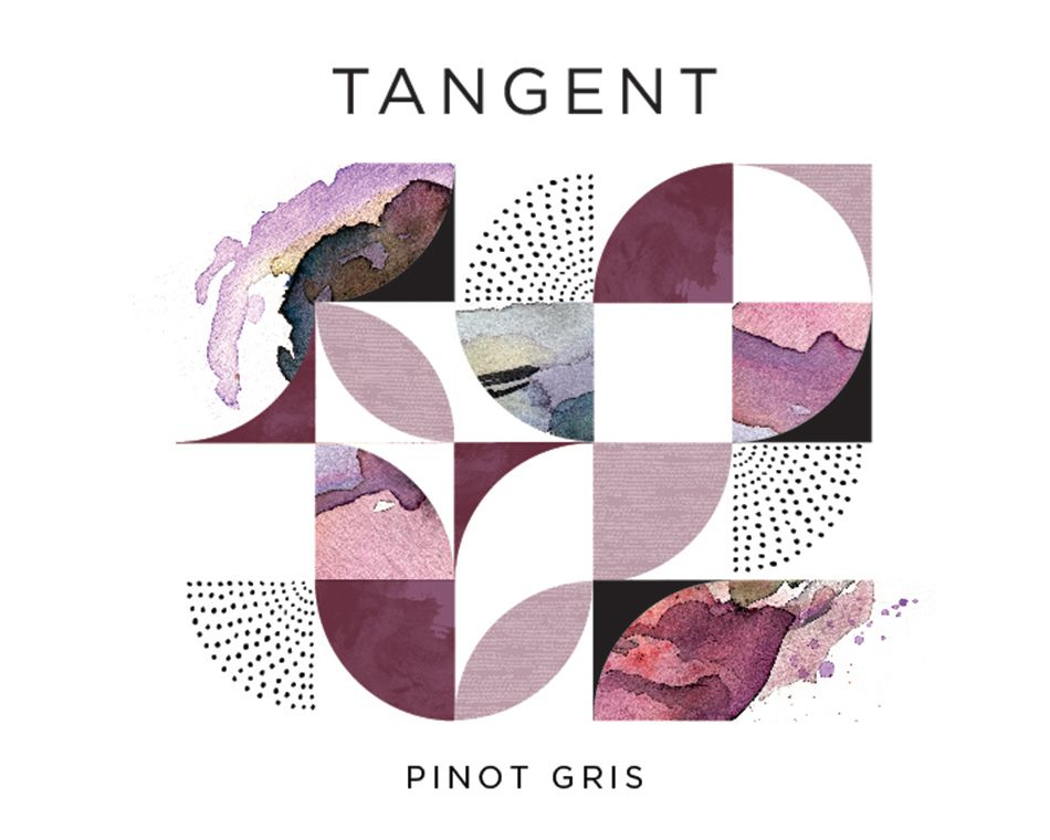 Tangent Paragon Vineyard Pinot Gris 2018  Front Label