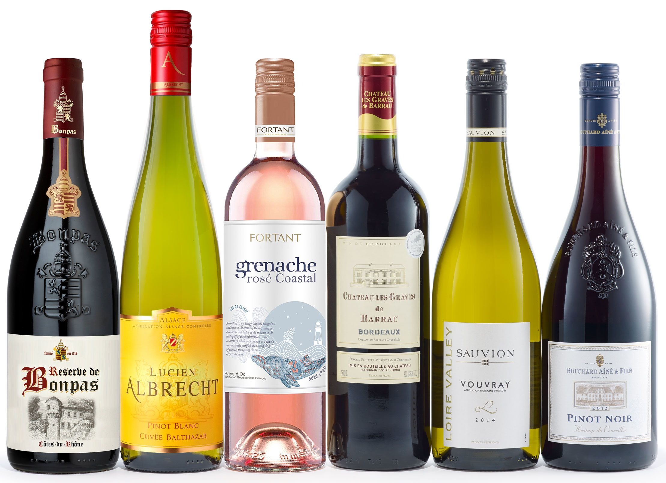 Grand Tour de France Wine Gift Set