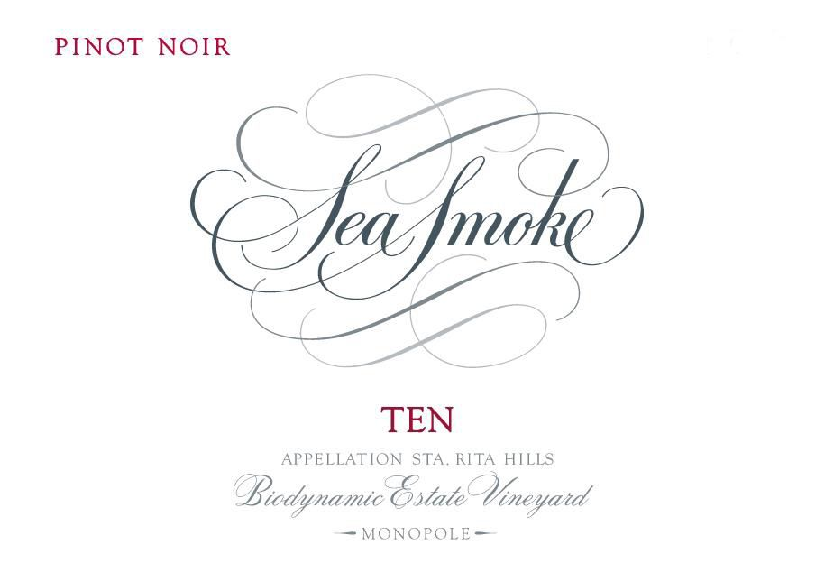 Sea Smoke Cellars Ten Pinot Noir 2017  Front Label