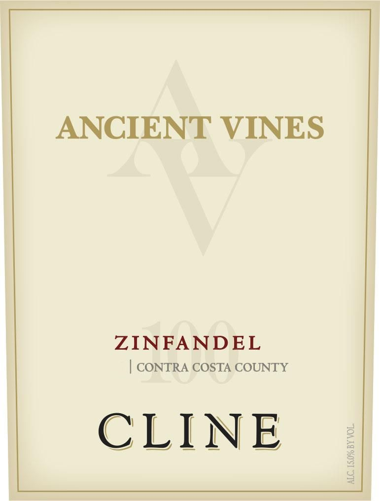 Cline Ancient Vines Zinfandel 2017 Front Label