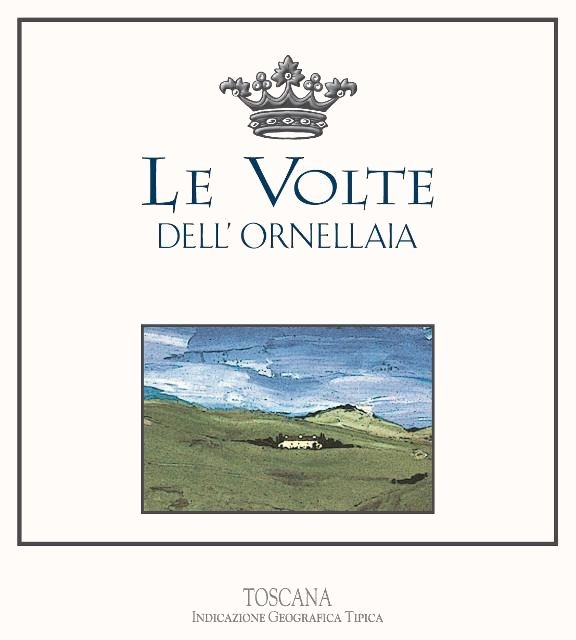 Ornellaia Le Volte dell' Ornellaia 2017  Front Label