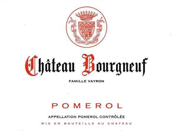 Chateau Bourgneuf (Futures Pre-Sale) 2019  Front Label