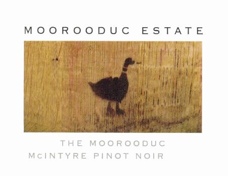 Moorooduc Estate The Duc McIntyre Vineyard Pinot Noir 2015 Front Label