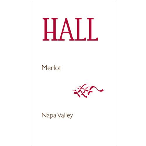 Hall Napa Valley Merlot 2016  Front Label