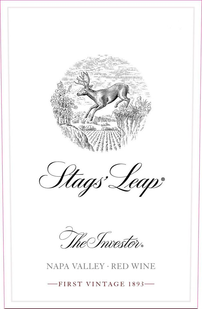 Stags' Leap Winery The Investor Red Wine 2016  Front Label