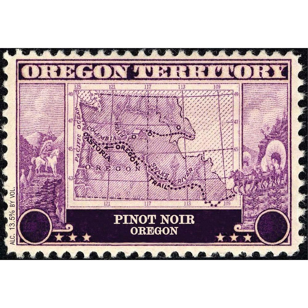 Oregon Territory Pinot Noir 2016 Front Label
