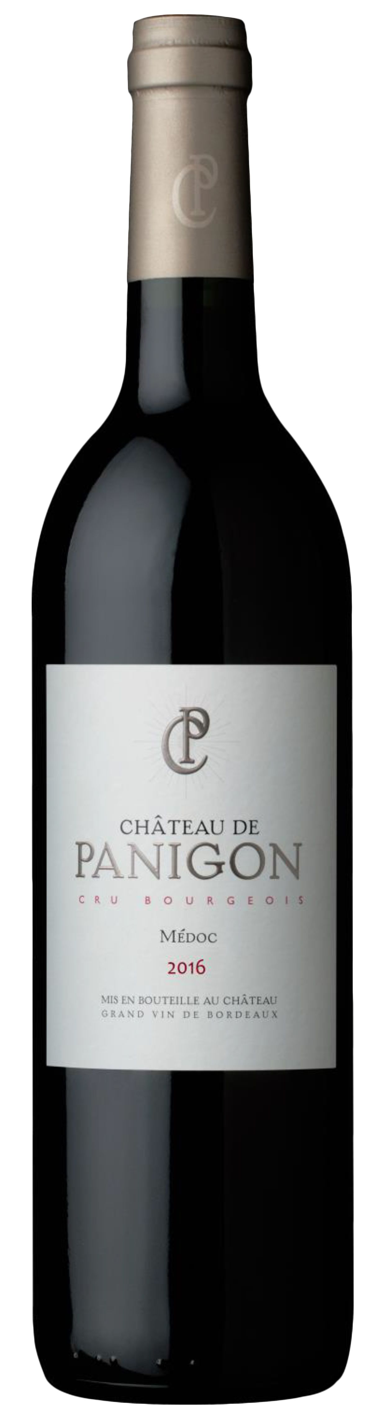 Chateau de Panigon  2016  Front Bottle Shot
