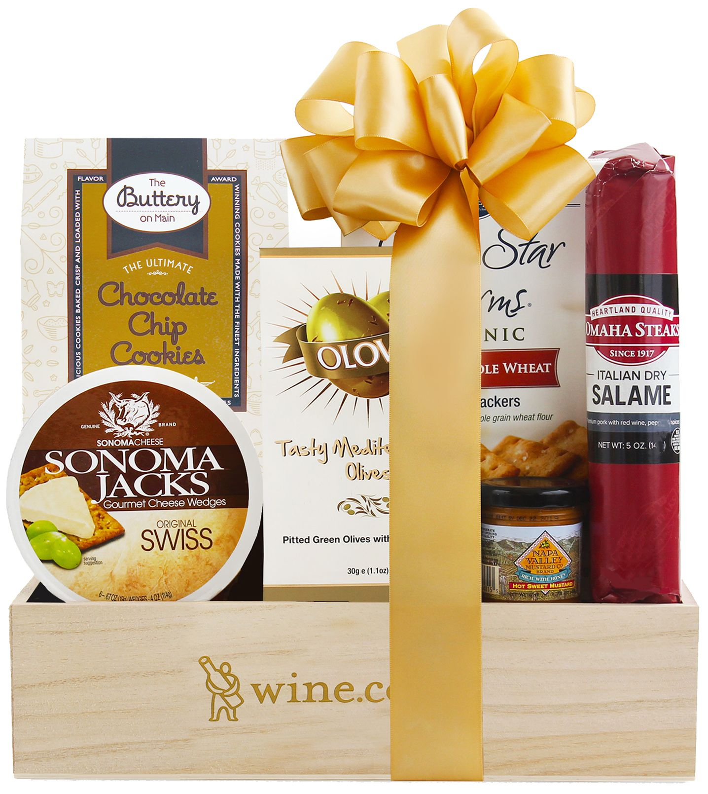 wine.com Fancy Treats Gift Box  Gift Product Image