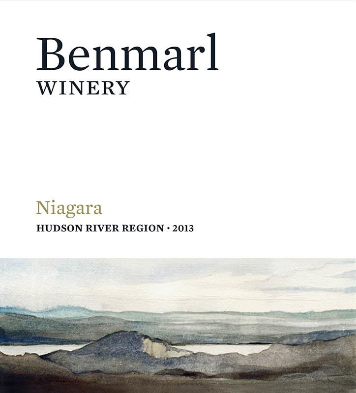 Benmarl Vineyards & Winery Niagara 2013 Front Label