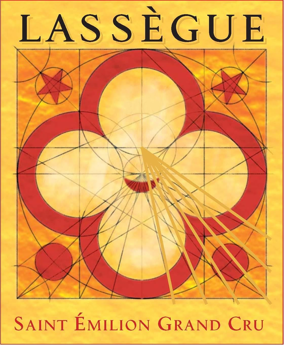 Chateau Lassegue  2016  Front Label