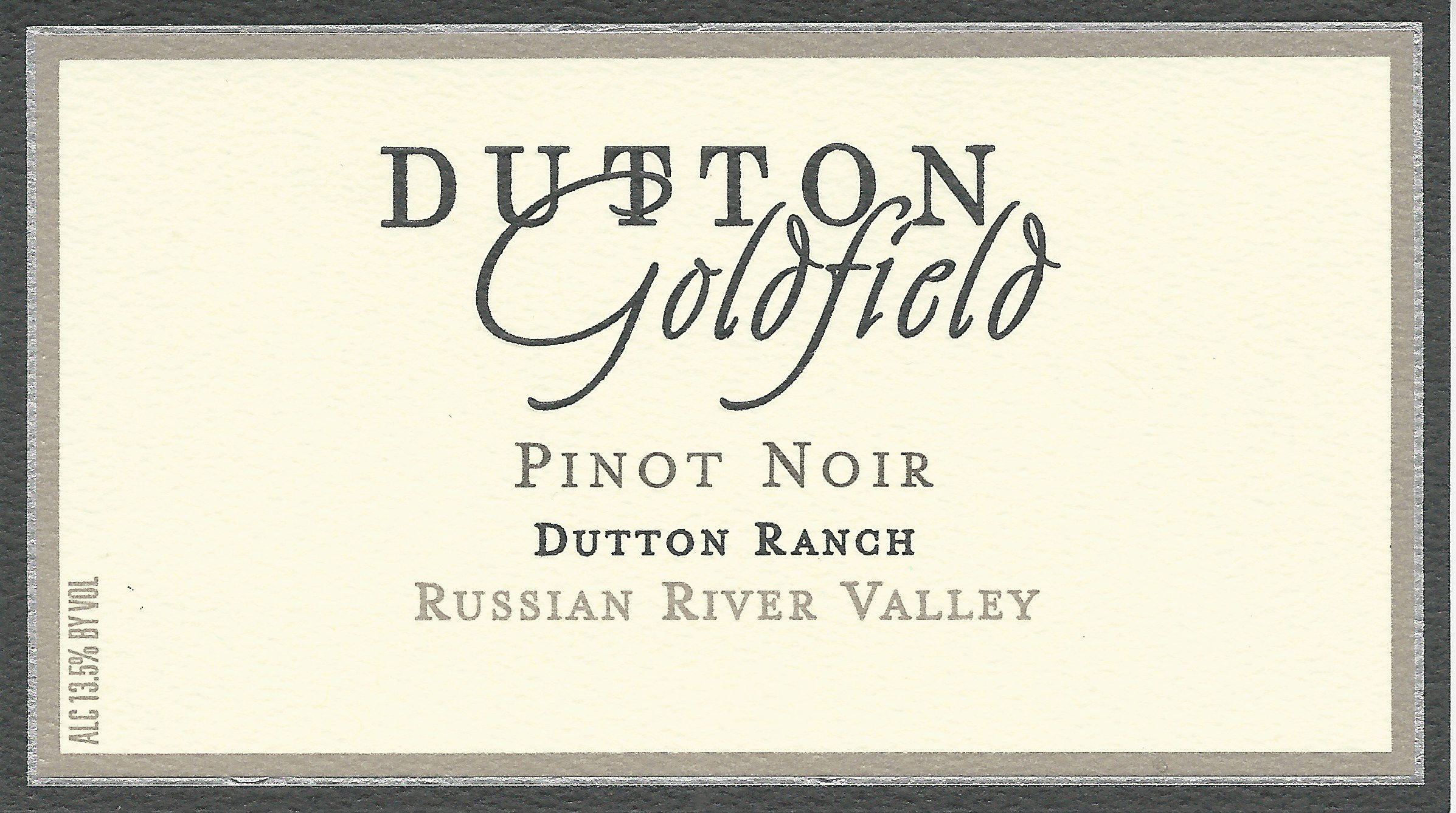 Dutton-Goldfield Dutton Ranch Pinot Noir 2018  Front Label