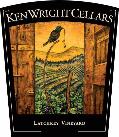 Ken Wright Cellars Latchkey Vineyard Pinot Noir 2017 Front Label