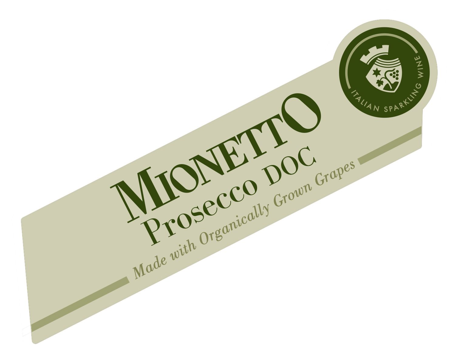 Mionetto Organic Prosecco Extra Dry  Front Label