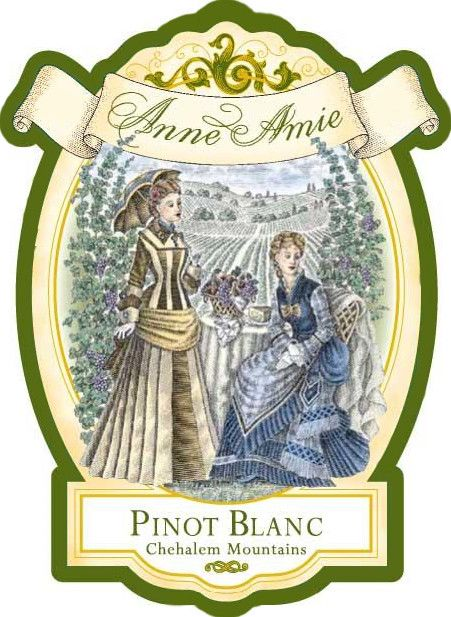 Anne Amie Pinot Blanc 2016  Front Label