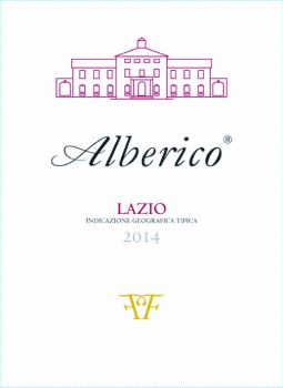 Alberico Rosso 2014 Front Label