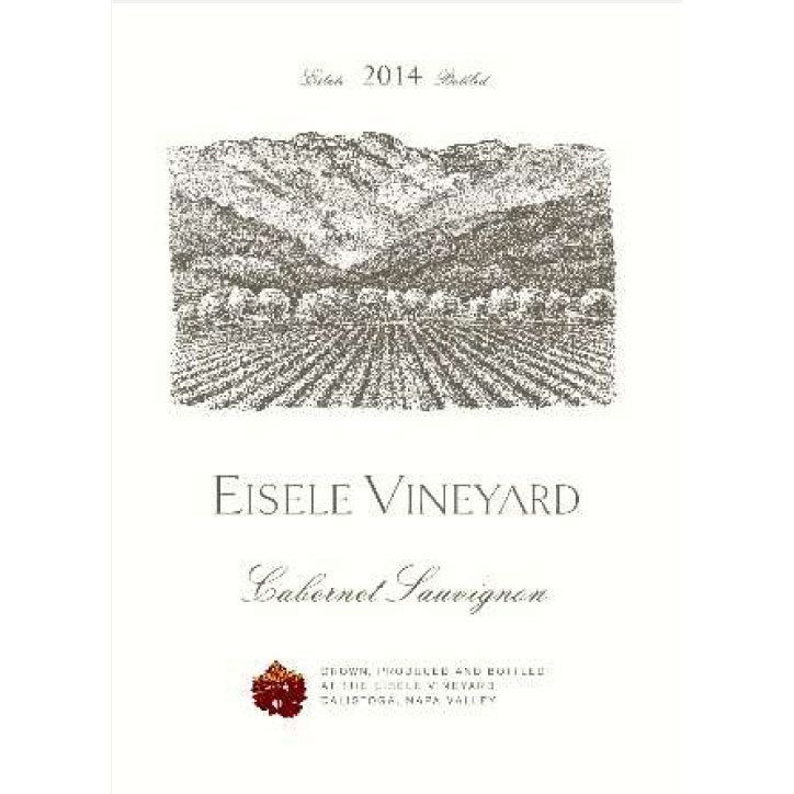 Eisele Vineyard Cabernet Sauvignon (375ML half-bottle) 2014  Front Label