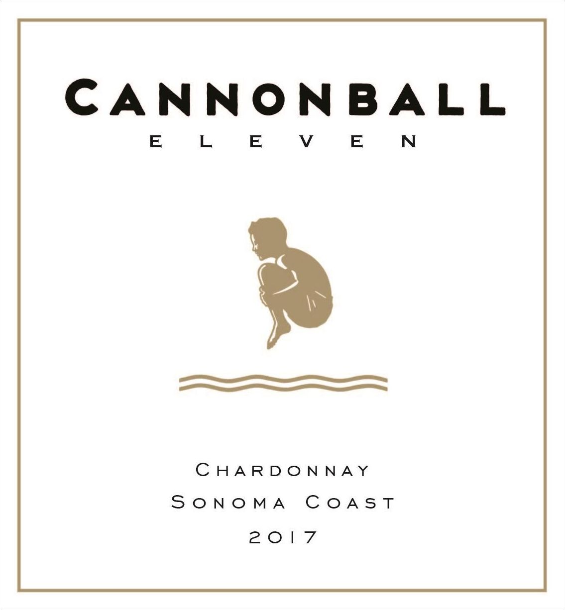 Cannonball Eleven Chardonnay 2017 Front Label