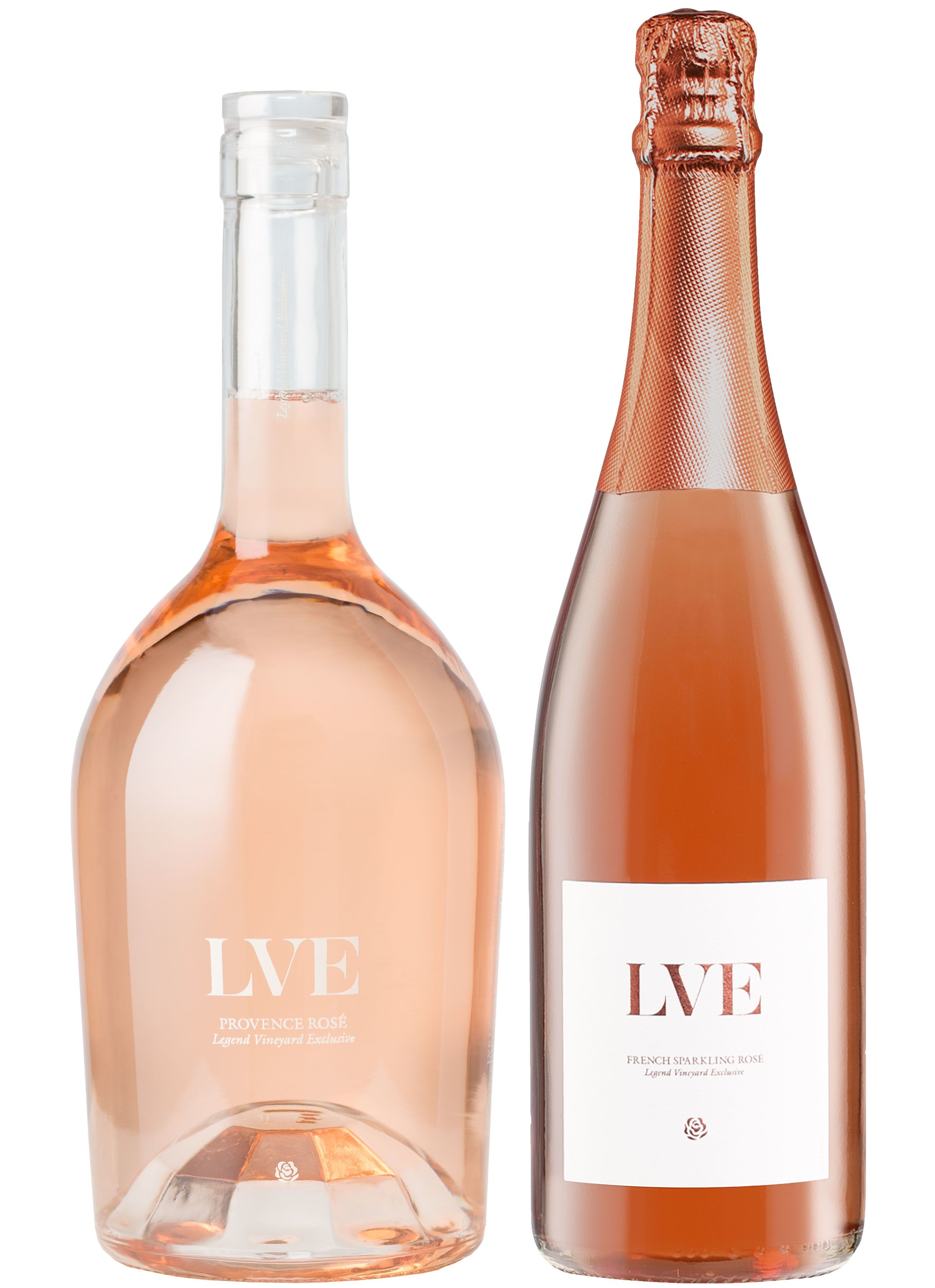 LVE by John Legend & Jean-Charles Boisset: Living Legends Rose Tasting  Gift Product Image