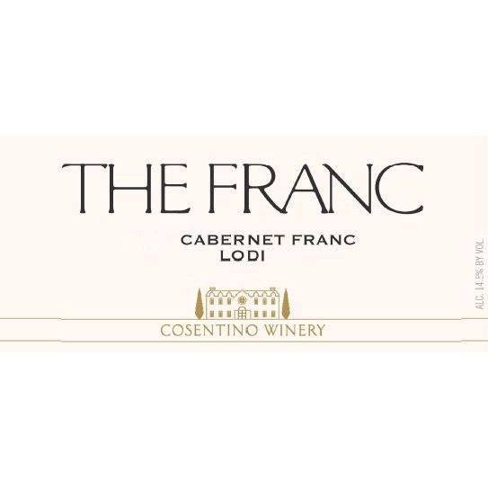 Cosentino The Franc 2019  Front Label