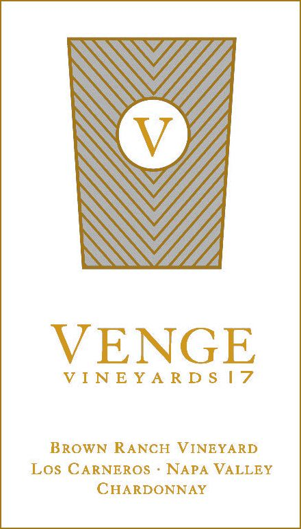 Venge Vineyards Brown Ranch Vineyard Chardonnay 2017  Front Label