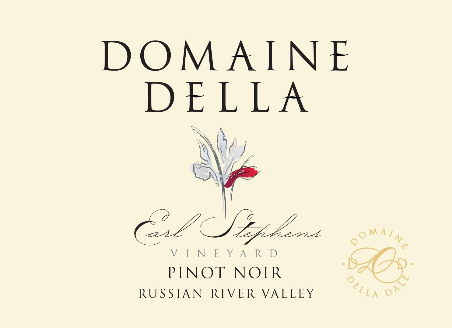Domaine Della Earl Stephens Vineyard Pinot Noir 2018  Front Label