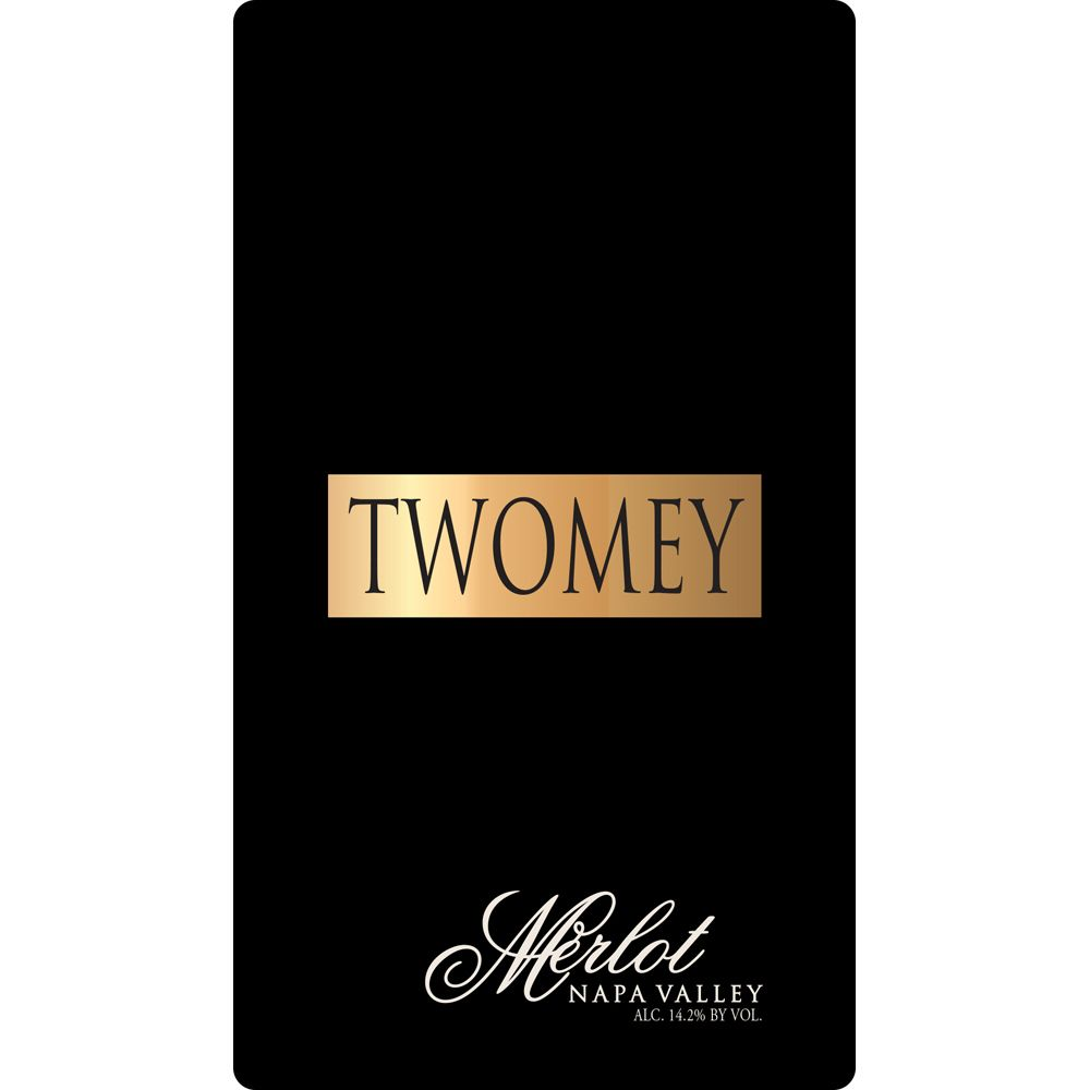 Twomey Cellars by Silver Oak Merlot 2016  Front Label