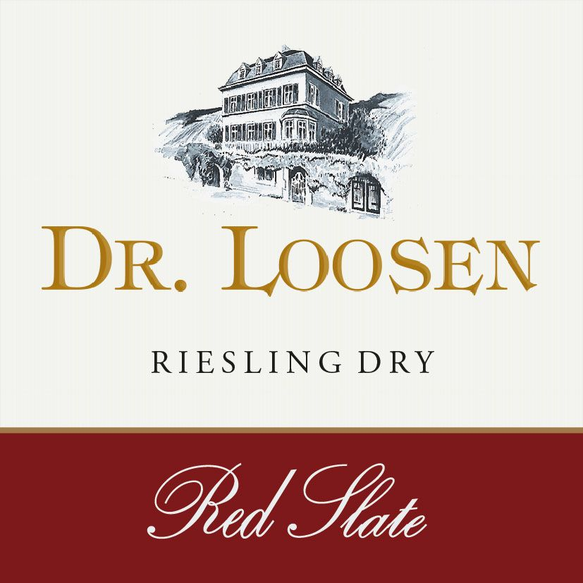 Dr. Loosen Red Slate Dry Riesling 2018 Front Label