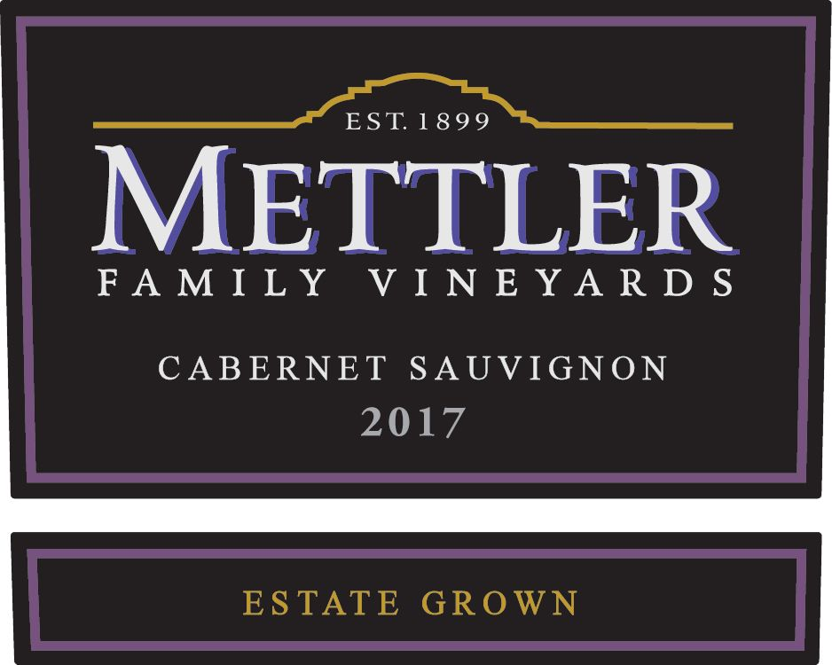 Mettler Family Vineyards Cabernet Sauvignon 2017  Front Label