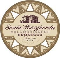 Santa Margherita Prosecco Superiore  Front Label
