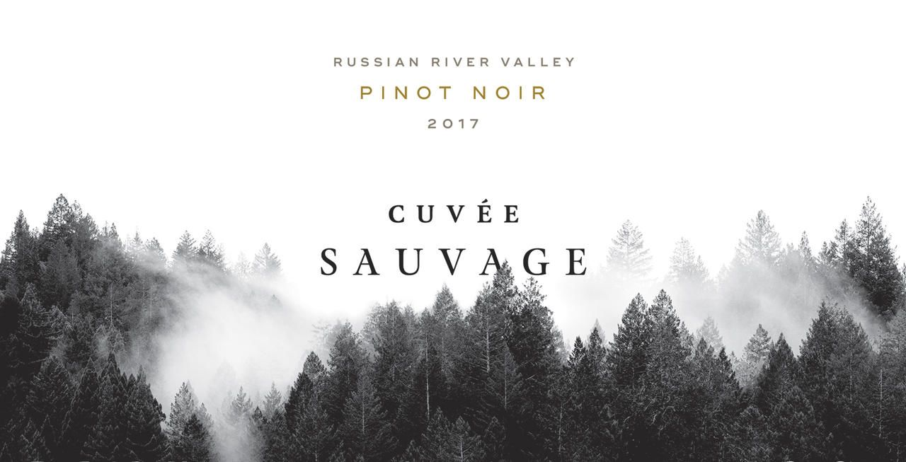 Cuvee Sauvage Russian River Pinot Noir 2017  Front Label