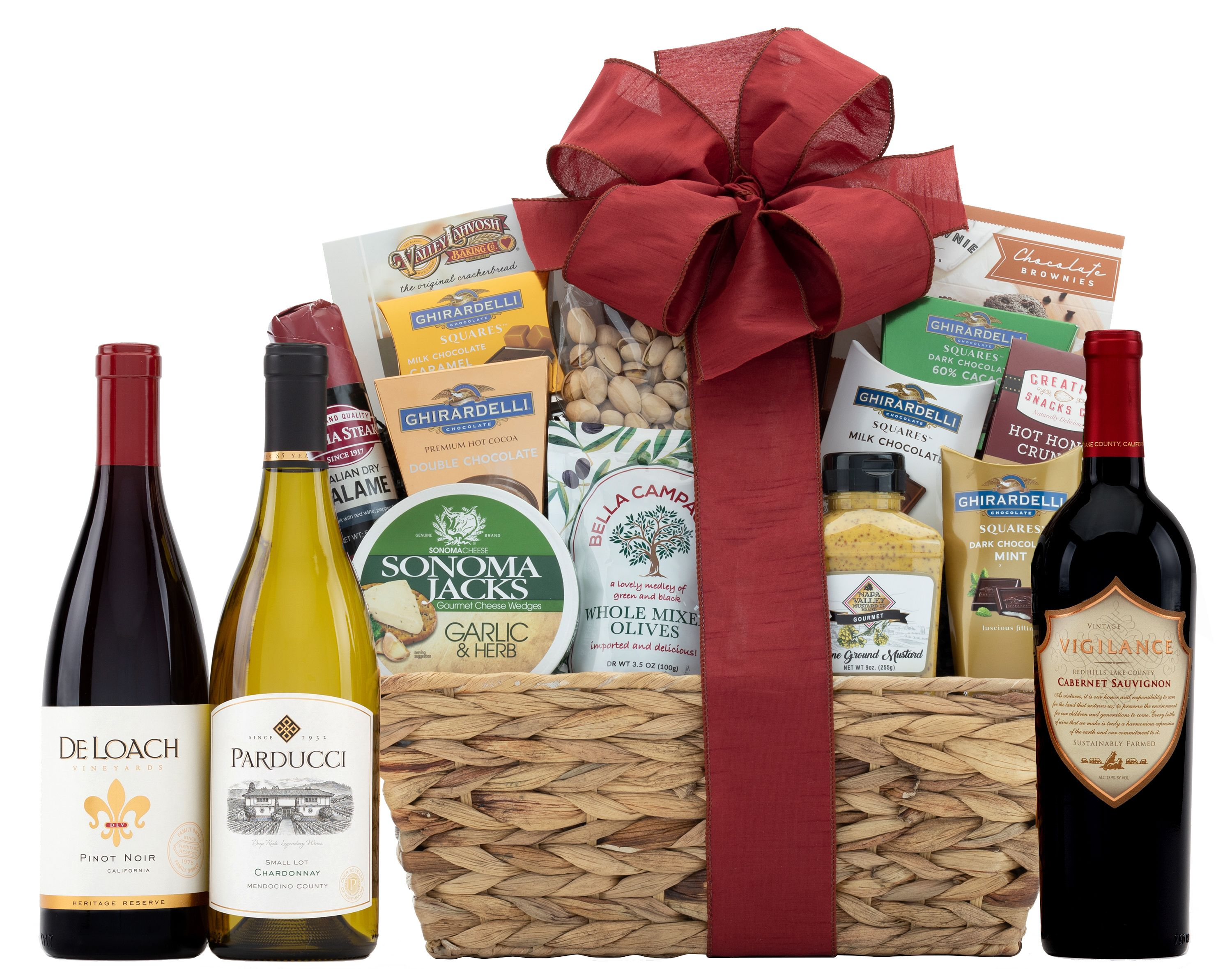 wine.com California Wine Tour Gift Basket  Gift Product Image