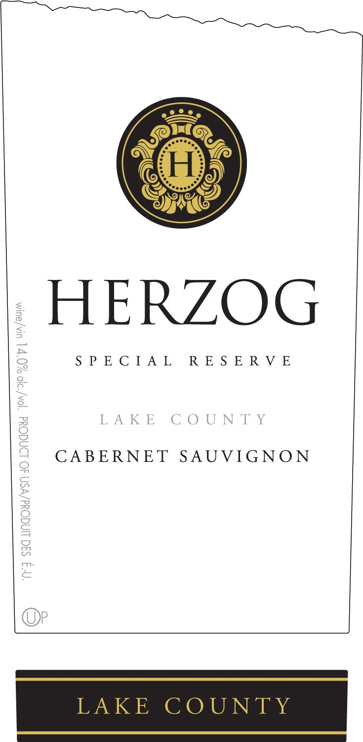 Baron Herzog Lake County Special Reserve Cabernet Sauvignon (OU Kosher) 2017  Front Label