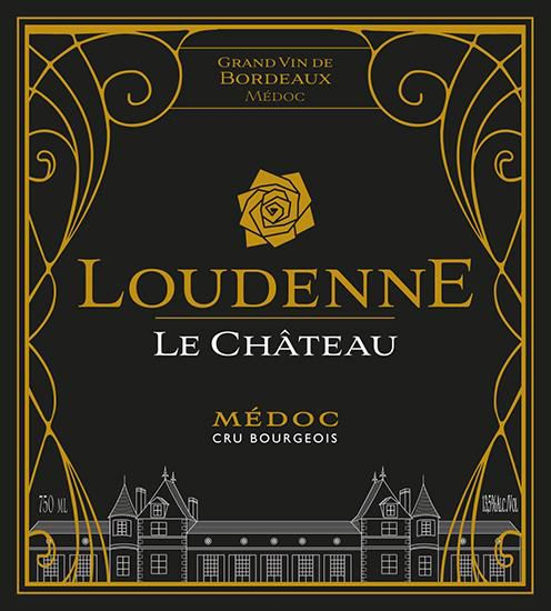 Chateau Loudenne  2015  Front Label