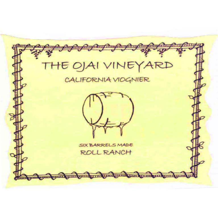 Ojai Roll Ranch Viognier (375ML half-bottle) 2005  Front Label