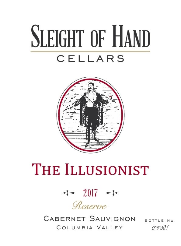 Sleight Of Hand The Illusionist Cabernet Sauvignon 2017  Front Label
