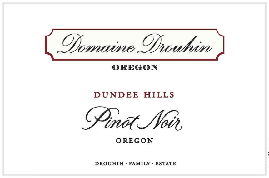 Domaine Drouhin Oregon Laurene Pinot Noir 2016  Front Label