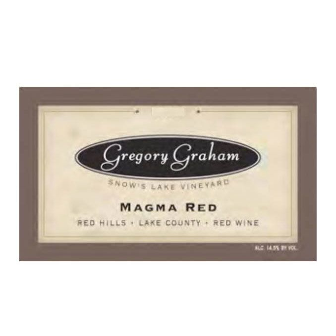 Gregory Graham Magma Red 2013 Front Label