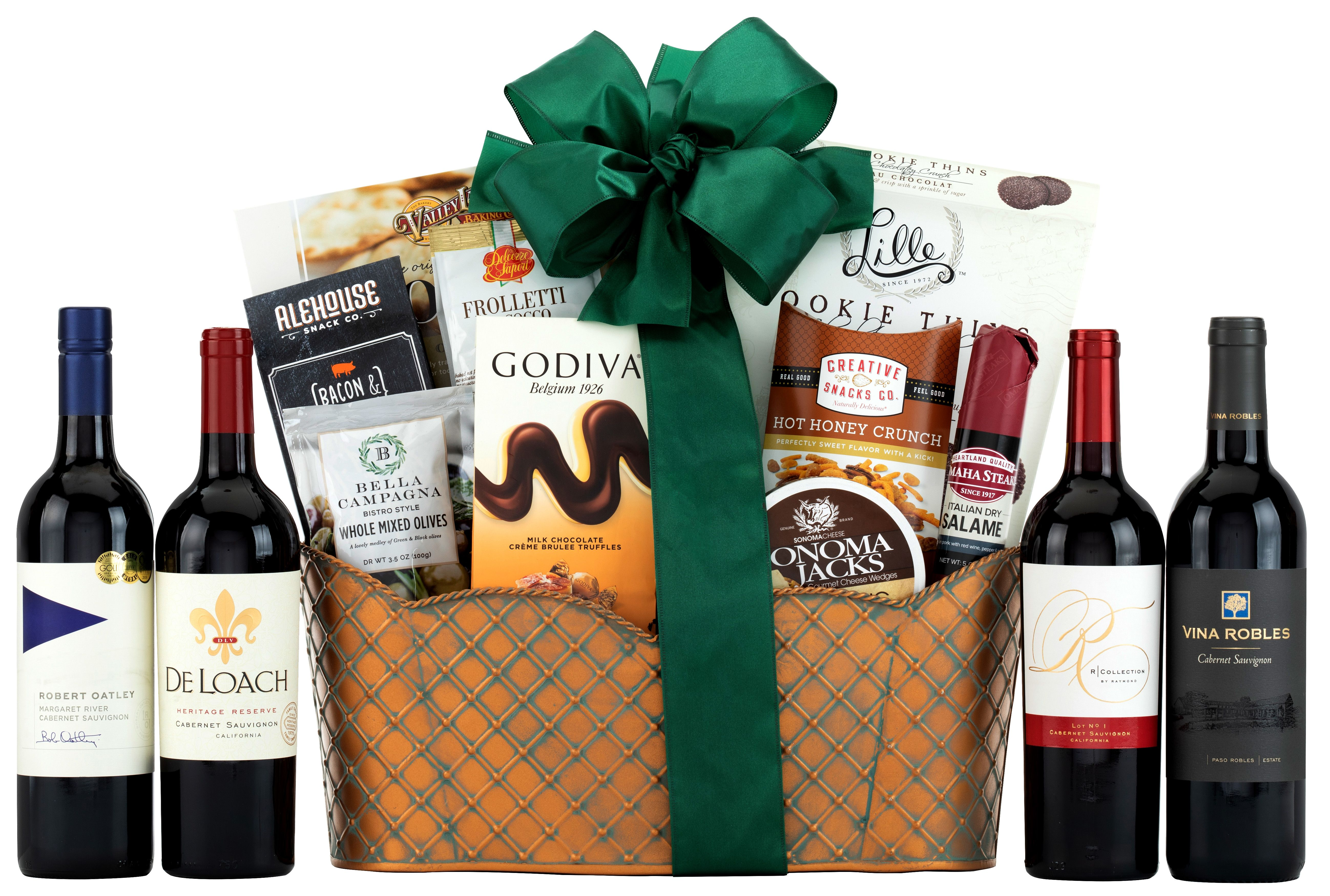 wine.com Executive Selection Cabernet Gift Basket  Gift Product Image