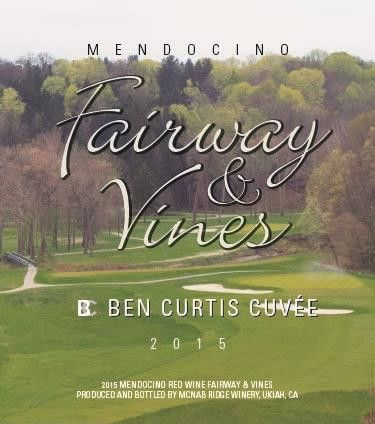 Fairway & Vines Ben Curtis Cuvee 2015  Front Label