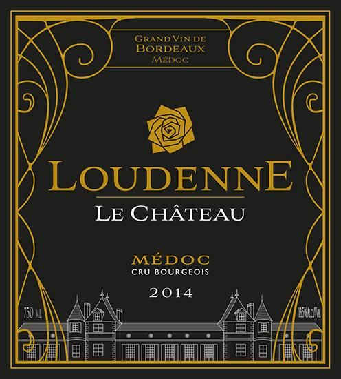 Chateau Loudenne  2014  Front Label