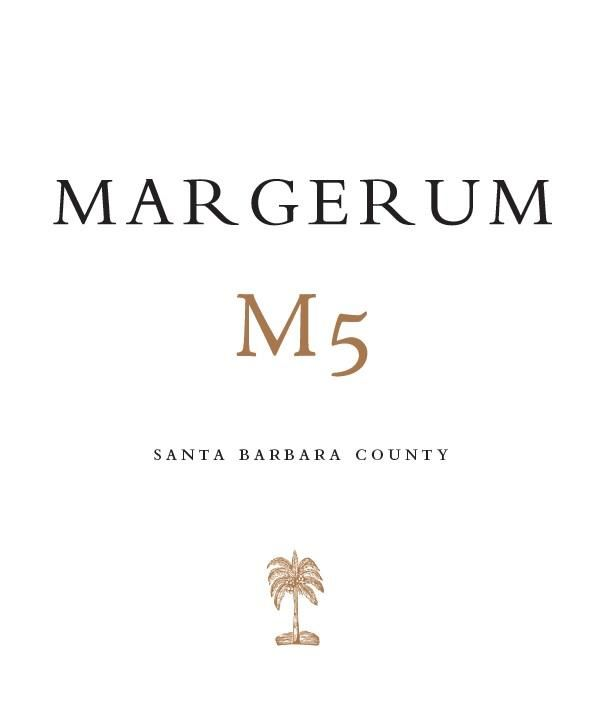 Margerum M5 Red 2016  Front Label