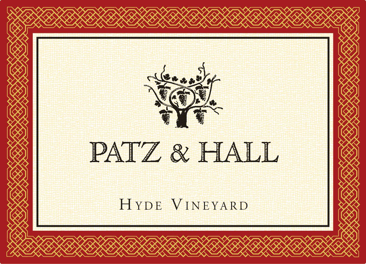 Patz & Hall Hyde Vineyard Pinot Noir 2017  Front Label