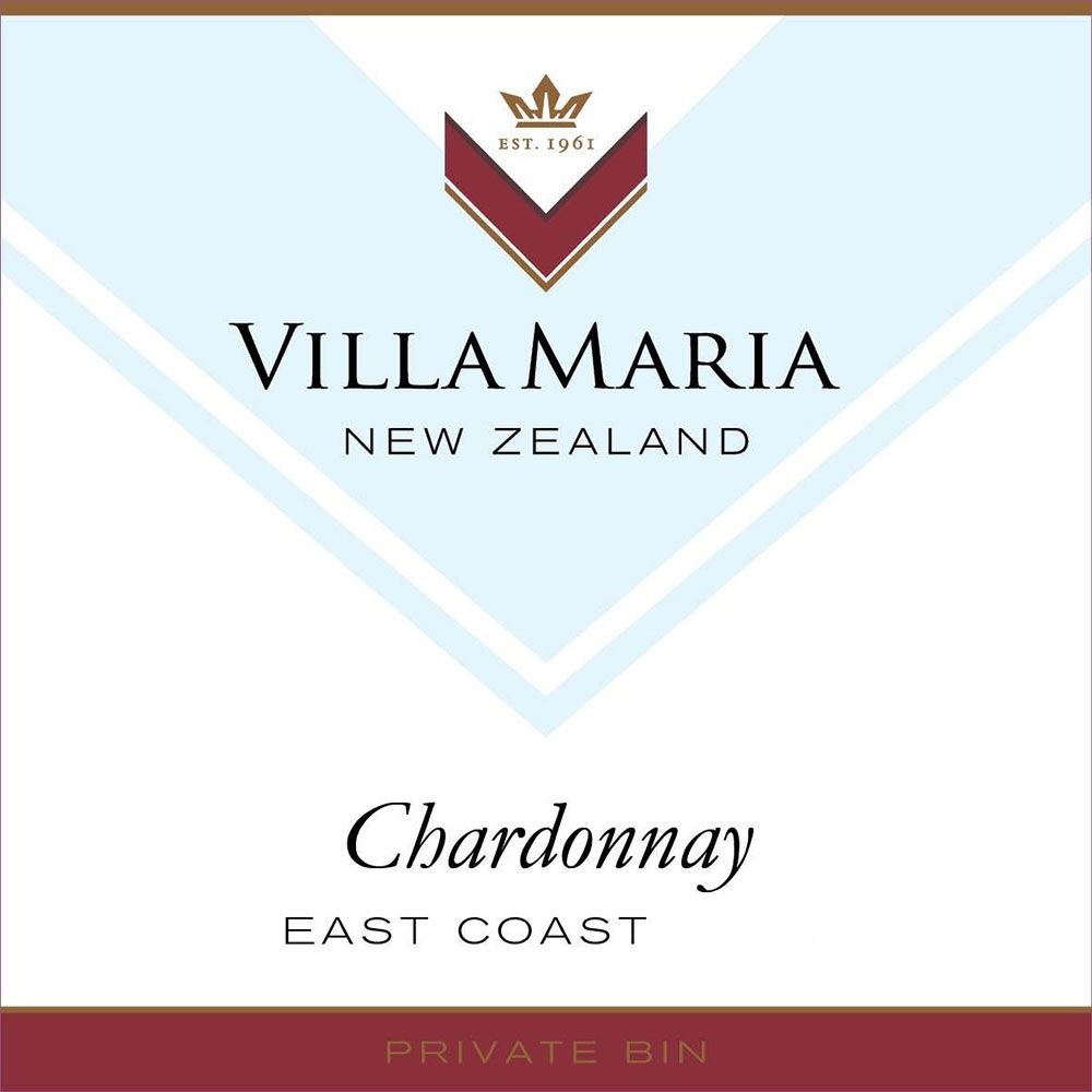 Villa Maria Private Bin Chardonnay 2017  Front Label