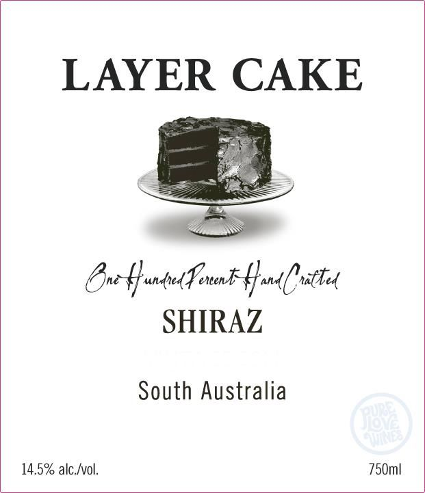 Layer Cake Shiraz 2018  Front Label