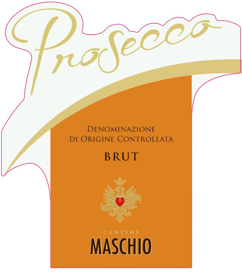 Cantine Maschio Prosecco Brut  Front Label