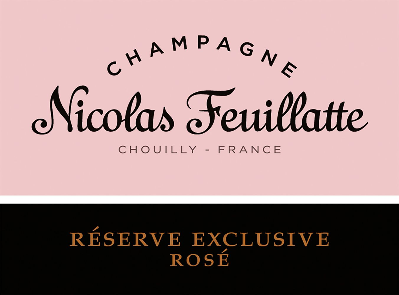 Nicolas Feuillatte Reserve Exclusive Rose  Front Label